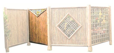 Sample  Bamboo fences